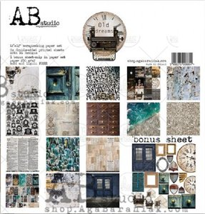 "Stack 12x12"" AB Studio Old Dreams"