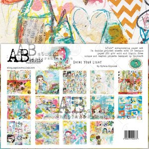 "Stack 12x12"" AB Studio Shine Your Light"