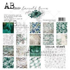 """Stack 12x12"""" AB Studio Emerald Queen"""