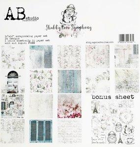 """Stack 12x12"""" AB Studio Shabby Love Symphony"""