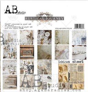 "Stack 12x12"" AB Studio Rustical Journey"