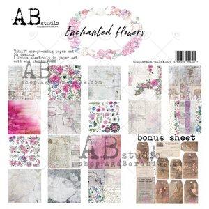 "Stack 12x12"" AB Studio Enchanted Flowers"