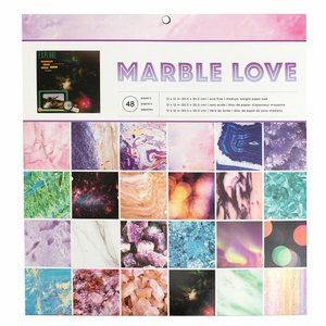 """Stack 12x12"""" Marble Love"""