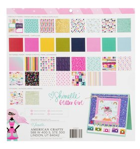 Glitter Girl Project Stack 12x12