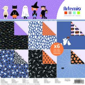"Stack 12x12"" Artemio Halloween Boo"