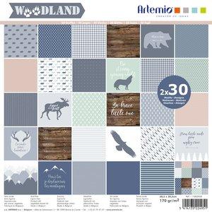 """Stack 12x12"""" Artemio Woodland"""