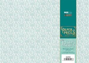 Paper Press The Bloomsbury Blue Wallpaper para encuadernar