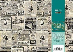 Paper Press The Bloomsbury Newspaper II para encuadernar