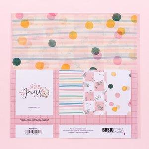 "Kit de vellums 12""x12"" Primavera Jane de Sami Garra"