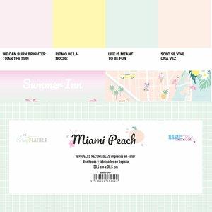 Kit de recortables Miami Peach de The Mint Feather