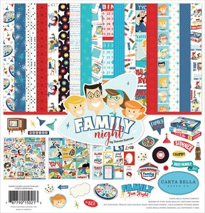 Family Night Carta Bella Collection Kit