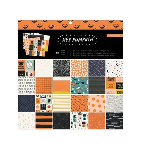 "Stack 12""x12"" Hey Pumpkin"