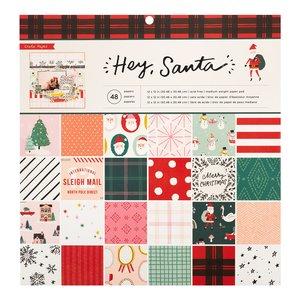 "Stack 12x12"" Hey Santa"