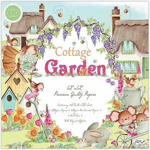 "Stack Premium 12x12"" Craft Consortium Cottage Garden"