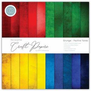 """Stack 12x12"""" Craft Consortium The Essential Grunge Festive Tones"""