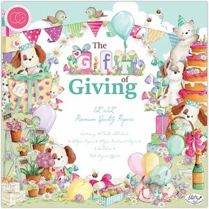 "Stack Premium 12x12"" Craft Consortium The Gift of Giving"