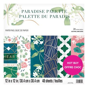"Stack Premium 12x12"" Craft Smith Paradise Palette"