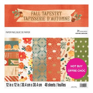 """Stack Premium 12x12"""" Craft Smith Fall Tapestry"""