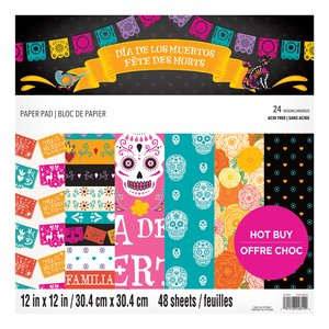 """Stack Premium 12x12"""" Craft Smith Day of the Dead"""