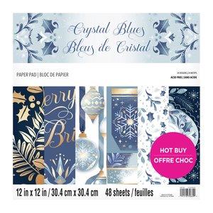 "Stack Premium 12x12"" Craft Smith Crystal Blues"