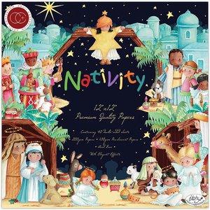 """Stack Premium 12x12"""" Craft Consortium Nativity"""