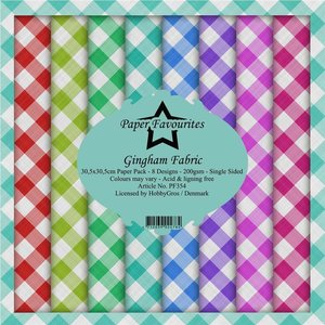 Pad papeles Paper Favourites Gingham Fabric