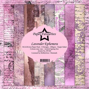 Pad papeles Paper Favourites Lavender Ephemera