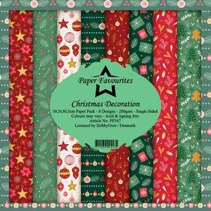 Pad papeles Paper Favourites Christmas Decoration