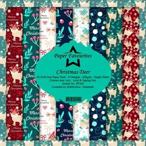 Pad papeles Paper Favourites Christmas Deer