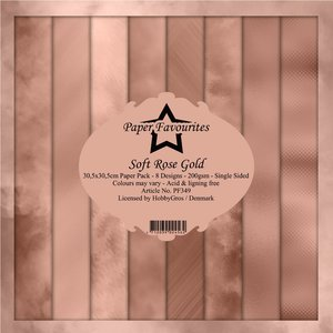 Pad papeles Paper Favourites Soft Rose Gold