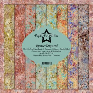 Pad papeles Paper Favourites Rustic Textured