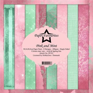 Pad papeles Paper Favourites Pink & Mint