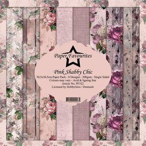 Pad papeles Paper Favourites Pink Shabby Chic
