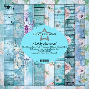 Pad papeles Paper Favourites Shabby Chic Wood