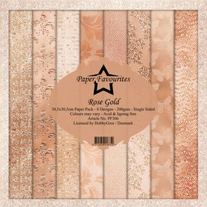 Pad papeles Paper Favourites Rose Gold
