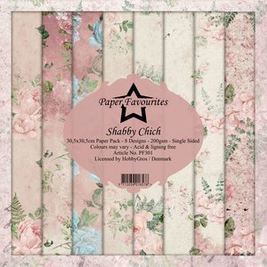 Pad papeles Paper Favourites Shabby Chic