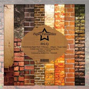 Pad papeles Paper Favourites Bricks