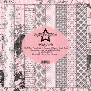 Pad papeles Paper Favourites Pink Paris