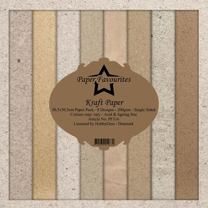 Pad papeles Paper Favourites Kraft Papers