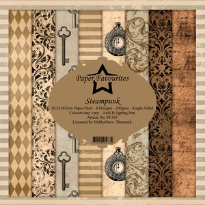 Pad papeles Paper Favourites Steampunk