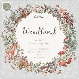 """Stack Premium 12x12"""" Craft Consortium Woodland"""