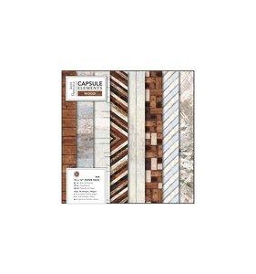 Stack 12x12 Capsule Elements Wood