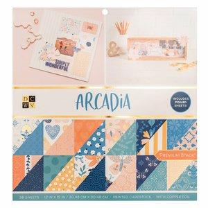 """Arcadia Stack Premium 12x12"""" con foil Copper"""