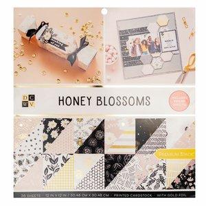 """Honey Blossoms Stack Premium 12x12"""" con foil Gold"""