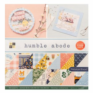 """Humbled Abode Stack Premium 12x12"""" con foil Gold"""