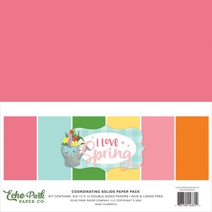I Love Spring Solids Kit