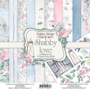 "Pad Fabrika Decoru 12x12"" Shabby Love"