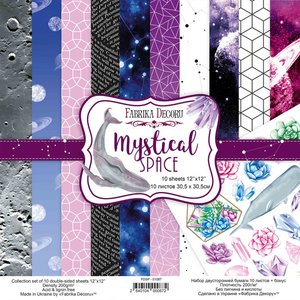 "Pad Fabrika Decoru 12x12"" Mystical Space"