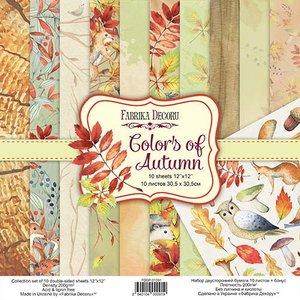 "Pad Fabrika Decoru 12x12"" Colors of Autumn"