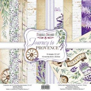 """Pad Fabrika Decoru 12x12"""" Journey to Provence"""